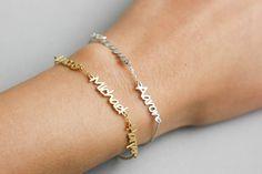 Kids Name Bracelet, Custom Name Bracelet, Name Bracelet, Personalized Jewelry, Couple's Bracelet, Bff Gift, Bridesmaid Gift, SB0183