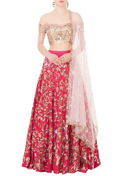 Shop Mani Bhatia Pink raw silk cutdana & sequin embroidered lehenga set , Exclusive Indian Designer Latest Collections Available at Aza Fashions Designer Bridal Lehenga, Bridal Lehenga Choli, Indian Lehenga, Indian Gowns, Ghagra Choli, Indian Wear, Raw Silk Lehenga, Pink Lehenga, Indian Bridal Outfits