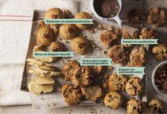 Dié koekies is dalk sonder botter en suiker, maar smaak hemels. Easy Peanut Butter Cookies, Diabetes, Banting, Sweet Life, Biscotti, Kos, Sweet Treats, Paleo, Low Carb