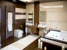 Decoración e Ideas para mi hogar: Baños decorados en color marrón o chocolate