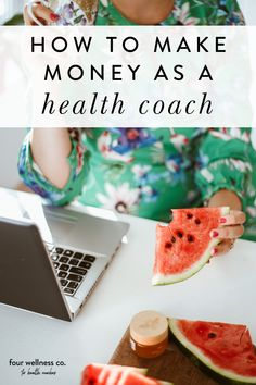 How To Earn Income As a Health Coach | Health Coach Business Ideas | Have you started a health coaching business and wondering how to make money? Click for the different and most popular way health coaches can earn income including 1:1 coaching, offering workshops, providing online membership program, using affiliate programs and more. | Health Coach Business Tools | Small Business Tips | Four Wellness Co. #healthcoachbusiness #wellnessbusinesstips #entrepreneurtips #freelancetips… Business Tips, Online Business, Online Coaching, Business Inspiration, Health Coach, Entrepreneur, How To Make Money, Wellness