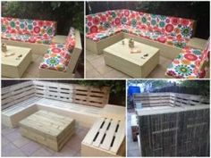 Garden Furniture Made From Decking patio furniture made from pallets and decking boards | patio