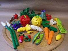Lego Fruits and Vegetables