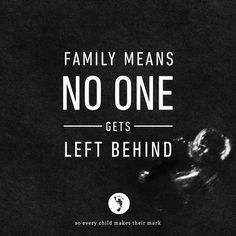 When a child is conceived, a family unit is formed.  It then becomes the family's responsibility to act as one. First and foremost, that means protecting their preborn.