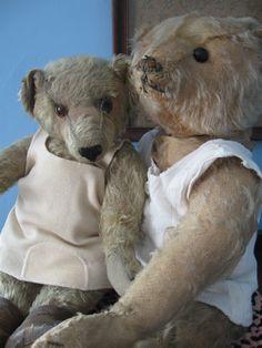 "Antique American Aetna 16"" Teddy Bear, Beverly"