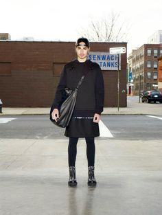 Givenchy Men Fall 2012 Collection... Finally a line for dudes in dresses...