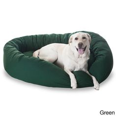 Luxurious Bagel Style Donut Plush Pet Dog Bed - 40 in - $64.99