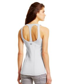 Amazon.com : Under Armour Women's UA Back In Action Tank : Athletic Tank Top Shirts : Sports & Outdoors