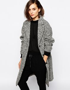 Today's top pick is this amazing tweed coat. Love the texture and oversize fit!