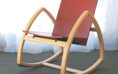 Woodpecker Rocking Chair by Colmio, Finland