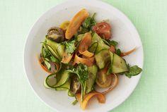 Balsamic Cucumber and Carrot Ribbon Salad | Recipe | Joy of Kosher with Jamie Geller