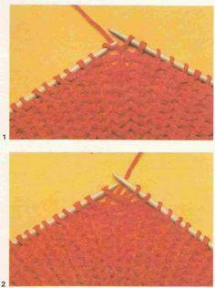 Tricot e Croche Passo a Passo Receitas: Como fazer o ponto inglês no tricô.