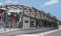 Metrobús, cubierta Danpalon
