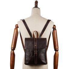 Heritage Vintage Leather Mini Backpack-YONDER BAGS Vintage Leather Backpack, Leather Backpack For Men, Leather Bag, Unique Bags, Mini Backpack, Everyday Carry, Preppy Style, Vintage Looks, Backpacks