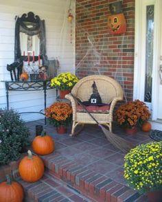 halloween decorating outdoor ideas - Victorian Halloween Decorations