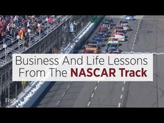 Forbes: Business And Life Lessons From The NASCAR Track