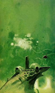 JOHN SCHOENHERR - art for Kalin by E. C. Tubb - 1969 Ace Double paperback 42800