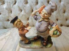"""Lefton Nursery Rhyme """"Simple Simon Met a Pieman"""" figurine #1255"""