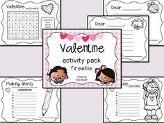 Valentine Activity Pack Freebie
