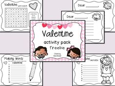 Valentine Activity Pack Freebie