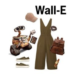 """Wall-E"" by chocolate-loving-demigod ❤ liked on Polyvore featuring Ulla Johnson, Pedro García, Disney, rag & bone, Gucci and Morphe"