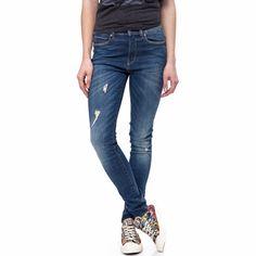 G-STAR RAW - Γυναικείο τζιν παντελόνι G-Star Raw 3301 μπλε | γυναικεια τζιν, γυναικεια τζιν παντελονια, προσφορες τζιν, τζιν με σκισιμο μπροστα