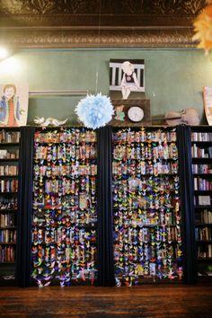 Grullas + libreros