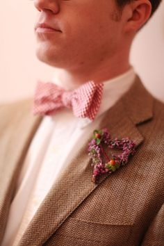 Heart bout, what a sweet little idea. Also love the bow tie.