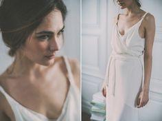 Robe de mariée longue et fluide - Carnets de mariage robe de mariee wedding planner - Crédit photos Yann Audic - La Fiancee du Panda Blog Mariage & Lifestyle