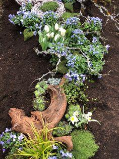 Grabhügel Bepflanzung