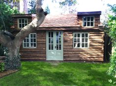 Tree Trunk Log Cabin Surrey. Now in self build kit form.