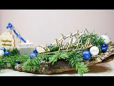Stroik na świąteczny stół DIY. Dekoracja świąteczna. Jak zrobić świątecz... Christmas Crafts For Kids, Christmas Decorations, Christmas Ornaments, Plants, Diy, Youtube, Bricolage, Christmas Jewelry, Do It Yourself