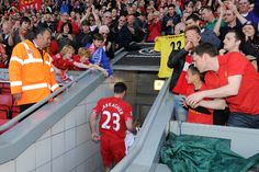 Jamie Carragher's 737th and final game as a Liverpool player