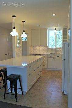 Beach Condo Kitchen Remodel - beach style - kitchen - los angeles ...