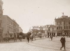 1916 - Vista do centro da cidade de São Paulo.