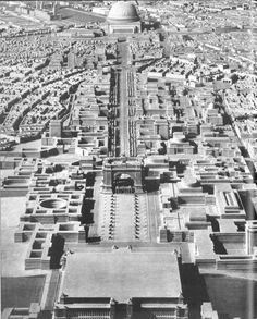 Hitler soñó con hacer de Berlín la gran capital de Europa, eclipsando a París y Londres. Y encargó el proyecto a Albert Speer, que elaboró los planos y maquetas que inmortalizarían al Tercer Reich. La capital alemana acoge una gran exposición inédita sobre la megalomanía frustrada del Führer.