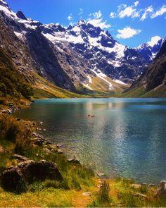 Lake Marian, NZ