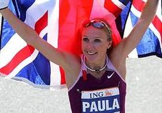 Paula Jane Radcliffe is the current women's world record holder in marathon with her time of 2:15:25 hrs. She is also a three-time winner of the London Marathon, two-time NY Marathon champion and former world champion. Despite suffering from childhood asthma and anaemia, she took up running at the young age of seven, proving that illness and age is all just in the mind.  Paula is a strong advocate against use of steroids in athletics and campaigns actively for her beliefs.