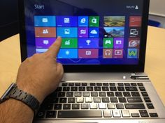 Toshiba adds touch to the Satellite P845t. With the looks of a Portege and a touch screen, this Windows 8 laptop is part of a big wave of touch-enabled PCs. Read CNET's review here: http://cnet.co/N1Ccr9
