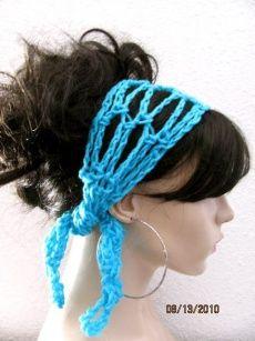 Gypsy Style crochet headband