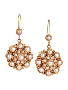 Buy Golden Ivory Ethno Floral Silver Earrings 92.5% Sterling Semi Precious Stone Jewelry Tantalizing Treasures Tribal Inspired Online at Jaypore.com