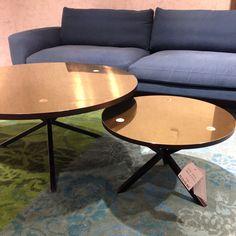 Nyhet på R.O.O.M. Fantastiska soffbord från @persoderberg_noearlybirds Dia 58cm, höjd 32cm 7.450kr. Dia 100cm, höjd 45cm 11.850kr.