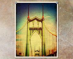 Portland Photography St. Johns Bridge by ThePDXPhotographer
