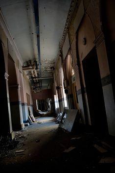 Inside; Barnes Hospital