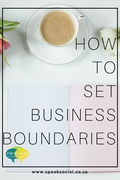 Boundaries are so important in all aspects of your life. Set them up from the start with your partners and life will be easier // Speak Social Successful Online Businesses, Small Businesses, Small Business Entrepreneurship, Business Advice, Business Coaching, Best Entrepreneurs, Business Management, Business Branding, Make Money Blogging