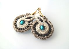 Turquoise earings - Handmade Wonderland