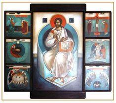 Современное сакральное искусство. Byzantine Art, New View, Sacred Art, New Testament, Contemporary, Modern, Pet Birds, Christianity, Catholic