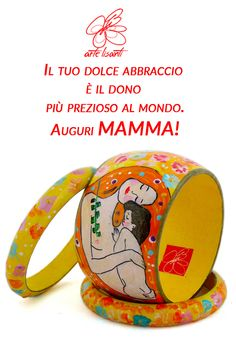 Il tuo dolce abbraccio è il dono più prezioso al Mondo Auguri #MAMMA. Clicca per scoprire i dettagli del bracciale Your sweet embrace is the most precious gift in the world #MOM wishes Click to find out the details of the bracelet #festadellamamma #ArteLisanti #AccessoriDipinti #MadeinItaly #bracelet #bracciale #bijoux #handpaintedbijoux #fashion #style #stylish #girl #design #model #shopping #glamour #ThePaintingToWear #fashionblogger #fashionstyle #outfit #chic #moda