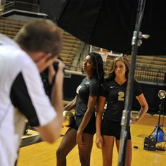 Check out these behind the scenes shots from Purdue Volleyball's photo shoot for the 2014 campaign