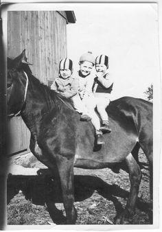 Dave, Jim, & Tom on old Belle.